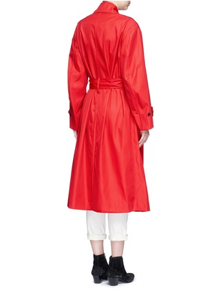 Back View - Click To Enlarge - Isabel Marant Étoile - 'Dani' twill trench coat