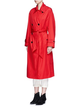 Front View - Click To Enlarge - Isabel Marant Étoile - 'Dani' twill trench coat