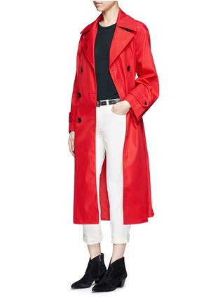 Figure View - Click To Enlarge - Isabel Marant Étoile - 'Dani' twill trench coat