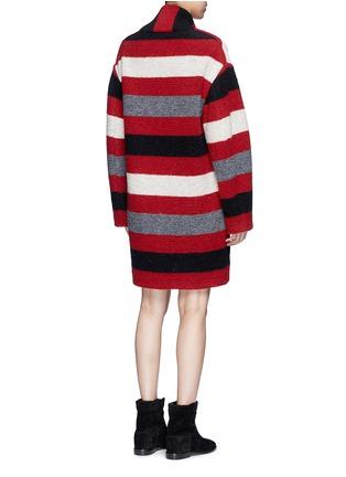 Back View - Click To Enlarge - Isabel Marant Étoile - 'Gabrie' stripe wool blend bouclé jacket