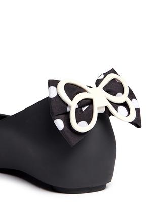 Detail View - Click To Enlarge - Melissa - 'Ultragirl Minnie' polka dot bow kids flats