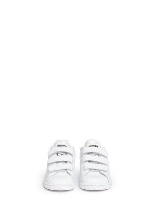 Figure View - Click To Enlarge - Adidas - 'Stan Smith CF' textured leather toddler sneakers
