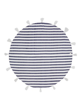 Main View - Click To Enlarge - Band Of Martians - Tassel stripe round blanket
