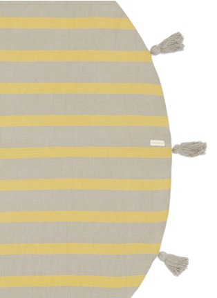 Detail View - Click To Enlarge - Band Of Martians - Tassel stripe round blanket