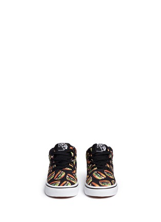Figure View - Click To Enlarge - Vans - 'Half Cab Late Night' hamburger print toddler sneakers