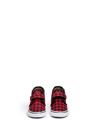 Figure View - Click To Enlarge - Vans - 'Chukka V' gingham twill toddler shoes
