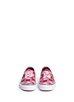 Figure View - Click To Enlarge - Vans - 'Authentic Late Night' cupcake print canvas kids sneakers