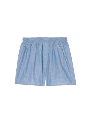 Main View - Click To Enlarge - Sunspel - Honeycomb dobby boxer shorts