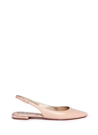Main View - Click To Enlarge - Sam Edelman - 'Hadley' slingback leather flats
