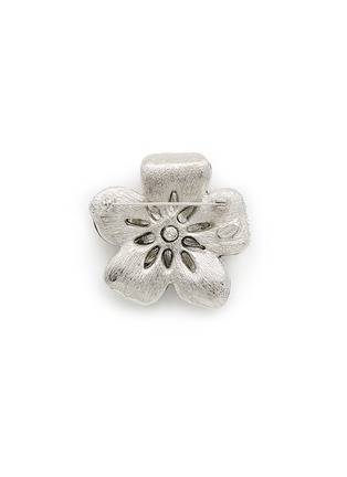 Figure View - Click To Enlarge - Kenneth Jay Lane - Crystal pavé flower brooch
