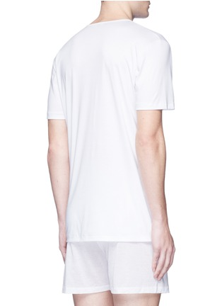 Back View - Click To Enlarge - ZIMMERLI - '286 SEA ISLAND' COTTON UNDERSHIRT