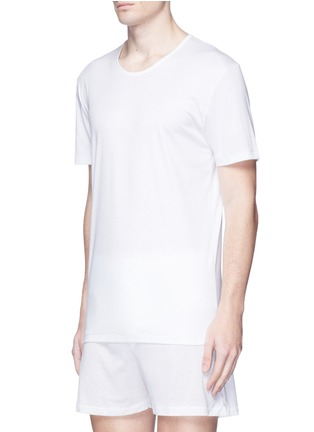 Figure View - Click To Enlarge - ZIMMERLI - '286 SEA ISLAND' COTTON UNDERSHIRT
