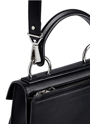 Detail View - Click To Enlarge - PROENZA SCHOULER - 'Hava' small top handle leather bag