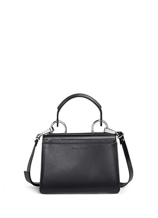 Back View - Click To Enlarge - Proenza Schouler - 'Hava' small top handle leather bag