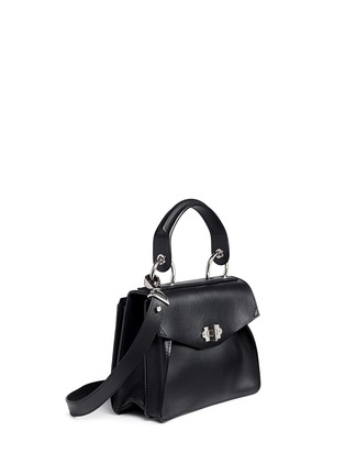 Front View - Click To Enlarge - Proenza Schouler - 'Hava' small top handle leather bag