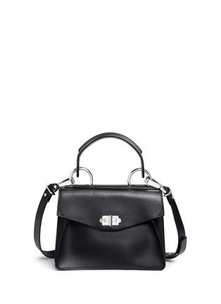Main View - Click To Enlarge - PROENZA SCHOULER - 'Hava' small top handle leather bag