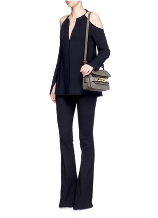 Figure View - Click To Enlarge - Proenza Schouler - 'PS11' mini Classic Linosa leather satchel