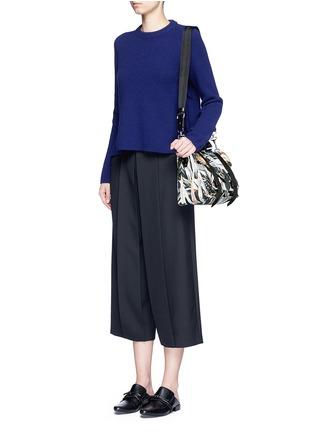 - Proenza Schouler - 'PS1' medium floral print nylon satchel