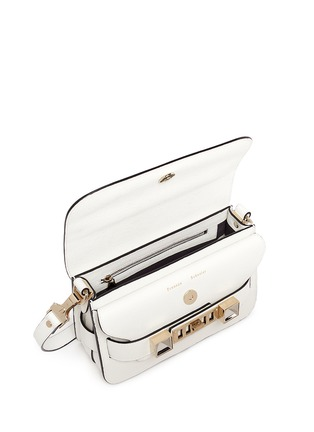 Detail View - Click To Enlarge - Proenza Schouler - 'PS11' mini Classic Linosa leather satchel