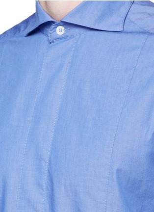 Detail View - Click To Enlarge - Barena - 'Maran' cutaway collar chambray shirt
