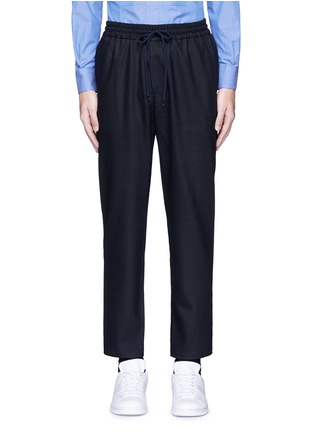 Main View - Click To Enlarge - Barena - Wool flannel jogging pants