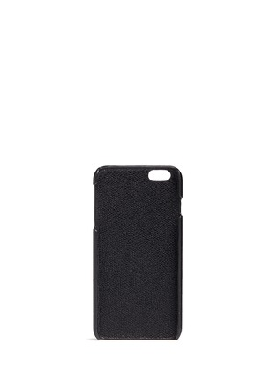 Figure View - Click To Enlarge - VALEXTRA - iPhone 6 Plus/6s Plus leather case