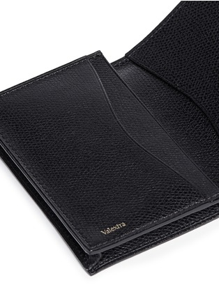 Detail View - Click To Enlarge - Valextra - Leather business card holder