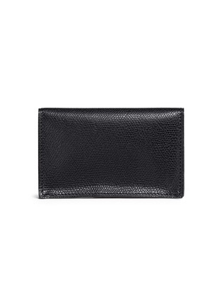 - VALEXTRA - Leather business card holder