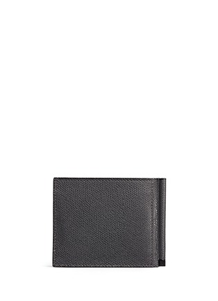 Back View - Click To Enlarge - Valextra - 'Simple Grip Spring' leather wallet