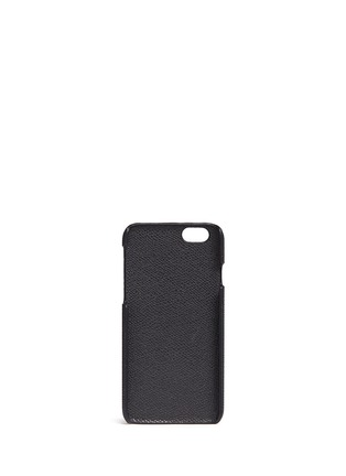 Figure View - Click To Enlarge - Valextra - Leather iPhone 6 case