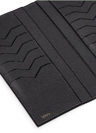 Detail View - Click To Enlarge - Valextra - Leather vertical wallet