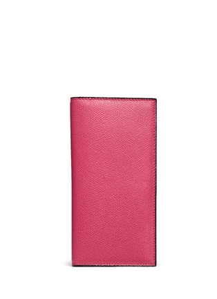 Main View - Click To Enlarge - Valextra - Leather vertical wallet