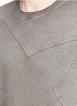 Detail View - Click To Enlarge - Valentino - Star embossed sweatshirt