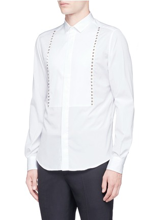 Front View - Click To Enlarge - Valentino - 'Rockstud Untitled 05' slim fit shirt
