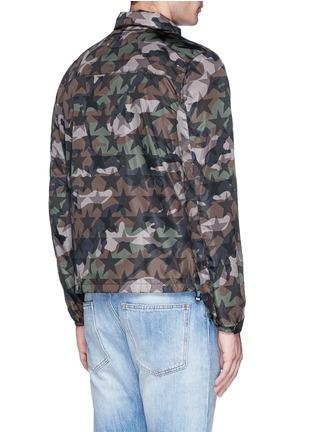 Back View - Click To Enlarge - Valentino - 'Camustars' print windbreaker jacket
