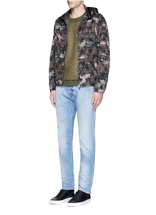 Figure View - Click To Enlarge - Valentino - 'Camustars' print windbreaker jacket