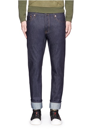 Detail View - Click To Enlarge - Valentino - 'Rockstud Untitled 06' regular fit jeans