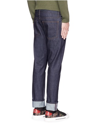 Back View - Click To Enlarge - Valentino - 'Rockstud Untitled 06' regular fit jeans
