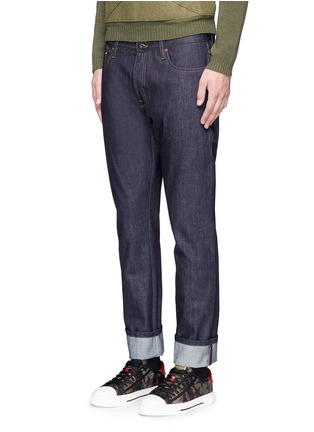 Front View - Click To Enlarge - Valentino - 'Rockstud Untitled 06' regular fit jeans