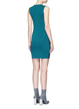 Back View - Click To Enlarge - rag & bone - 'Lucine' colourblock knit dress