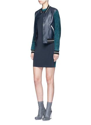 Figure View - Click To Enlarge - rag & bone - 'Lucine' colourblock knit dress