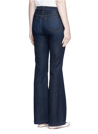 Back View - Click To Enlarge - J Brand - 'Maria Flare' high waist jeans
