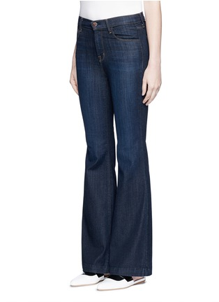 Front View - Click To Enlarge - J Brand - 'Maria Flare' high waist jeans