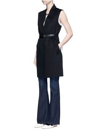 Figure View - Click To Enlarge - J Brand - 'Maria Flare' high waist jeans