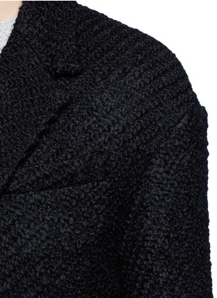 Detail View - Click To Enlarge - Isabel Marant - 'Ilaria' wool blend bouclé tweed jacket