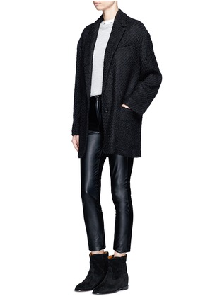Figure View - Click To Enlarge - Isabel Marant - 'Ilaria' wool blend bouclé tweed jacket