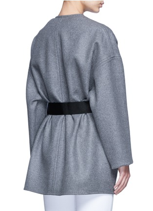 Back View - Click To Enlarge - Isabel Marant - 'Feodor' wool-cashmere drape coat