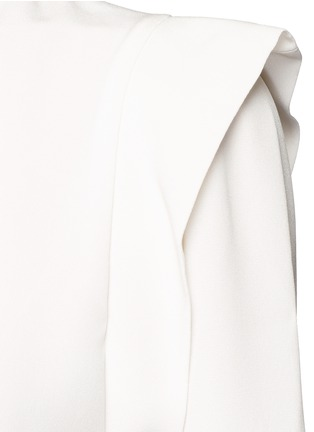 Detail View - Click To Enlarge - Isabel Marant - 'Brad' sash tie surplice crepe dress