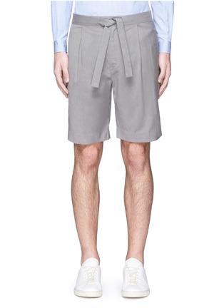 Main View - Click To Enlarge - FFIXXED STUDIOS - 'Communal' sash belt shorts