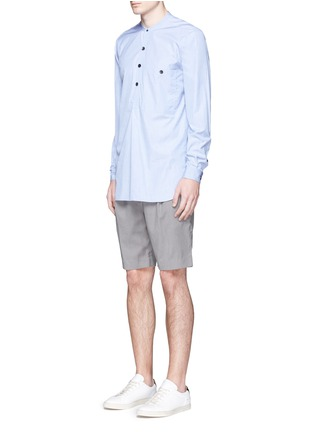 Figure View - Click To Enlarge - FFIXXED STUDIOS - 'Communal' sash belt shorts